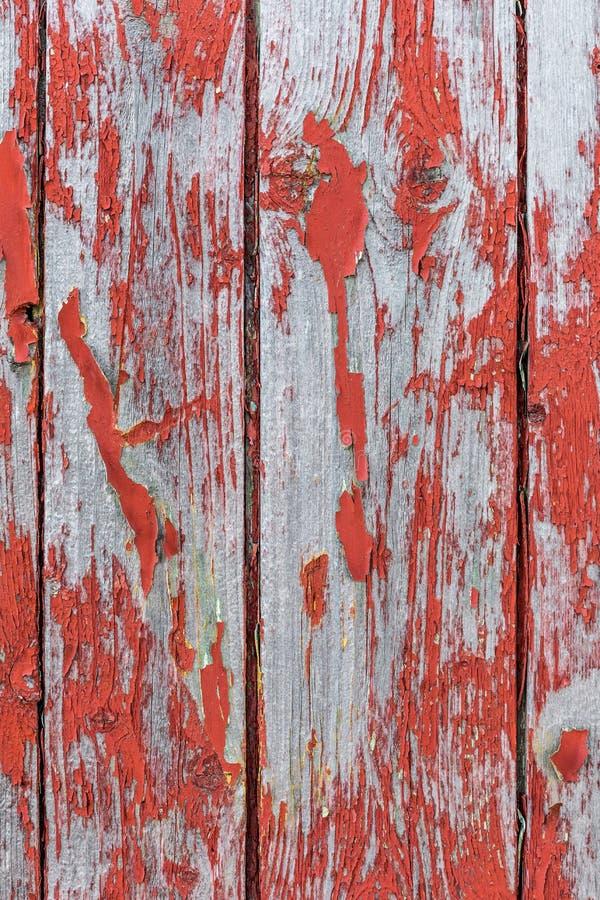 Malujący stary drewniany ścienny czerwony tło obrazy royalty free