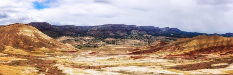 Malujący wzgórza dla mil zdjęcie stock
