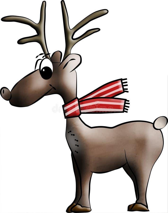 Download Malujący Rudolph ilustracji. Obraz złożonej z sylwetka - 22354579