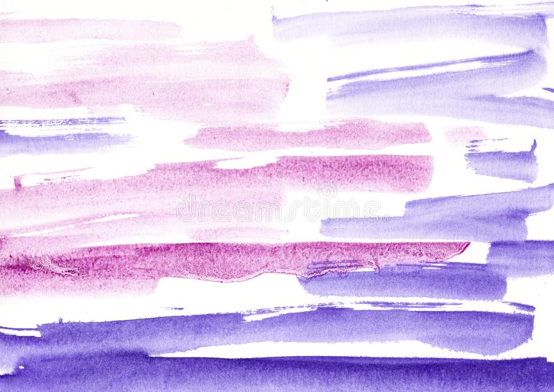 maluje, koloru tło, akwarela, abstrakcjonistyczny obrazu koloru tex fotografia stock