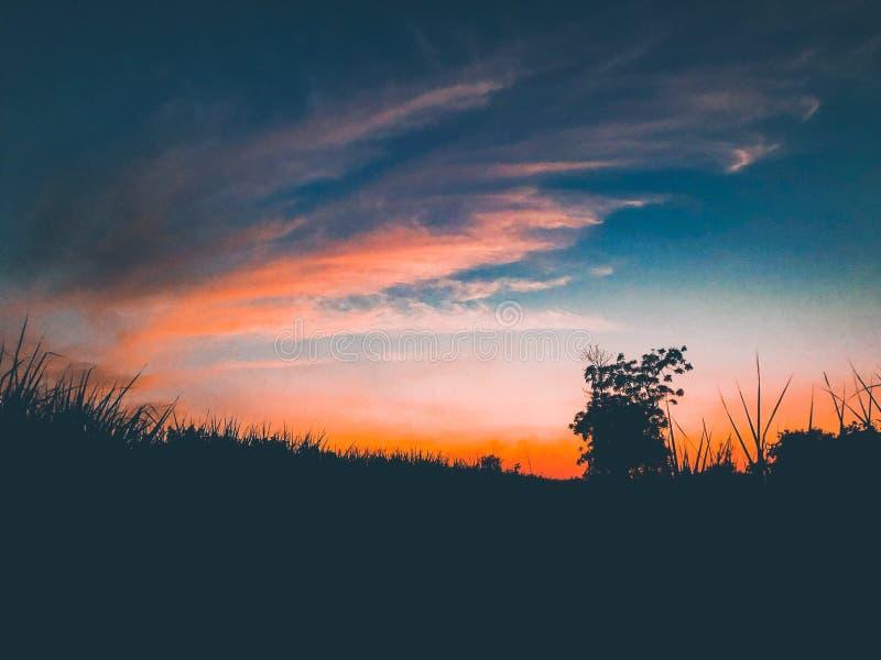 Maluje niebo, robi mię waszym, fotografia stock