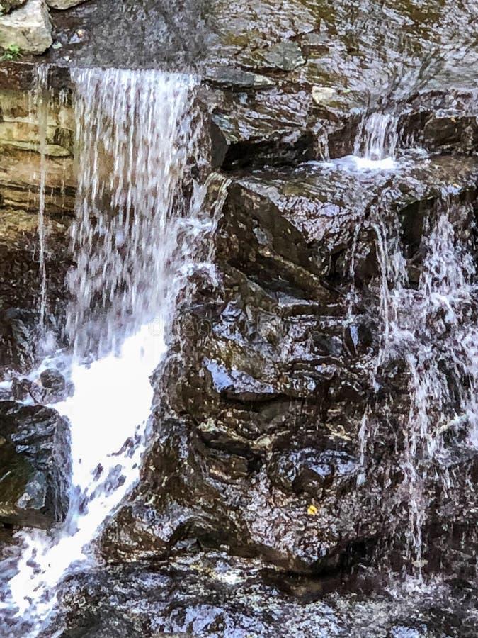 Malutka siklawa w Indiana stanu parku fotografia stock
