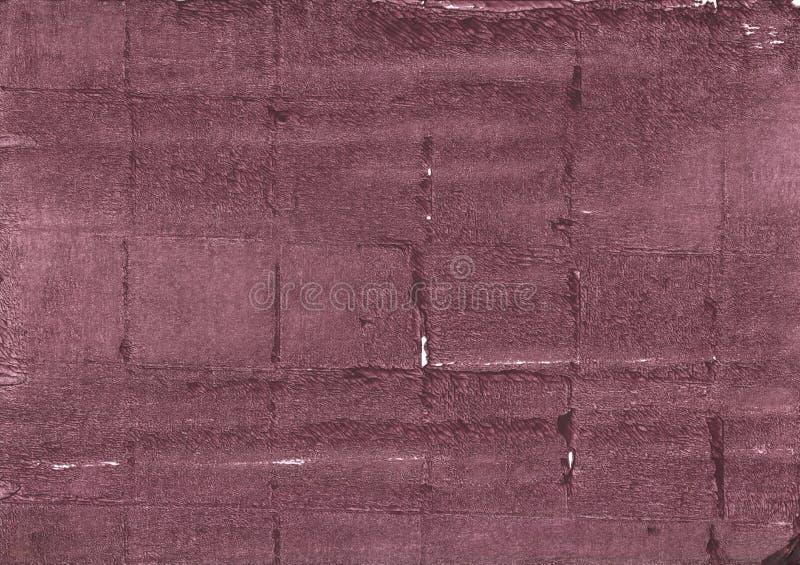 Malvenfarbener Taupezusammenfassungs-Aquarellhintergrund lizenzfreie stockbilder
