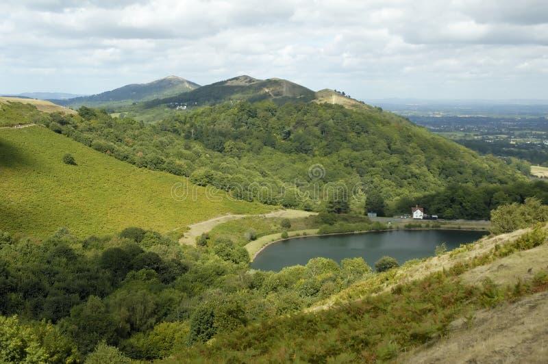 Malvern Hügel stockfoto
