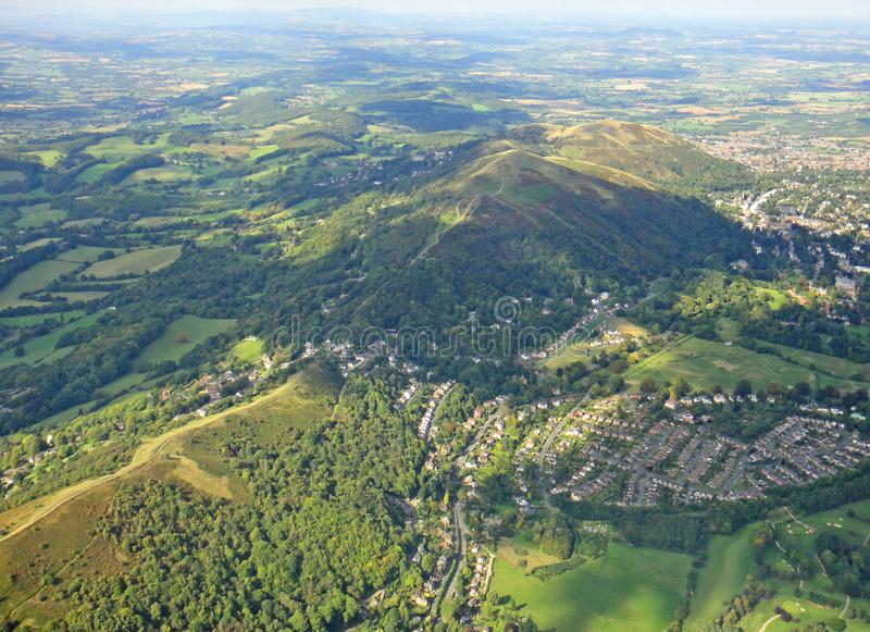 Malvern kullar, Worcestershire royaltyfri fotografi