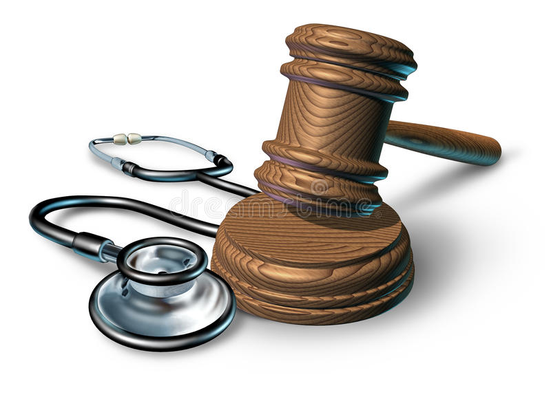 Malversação médica ilustração royalty free