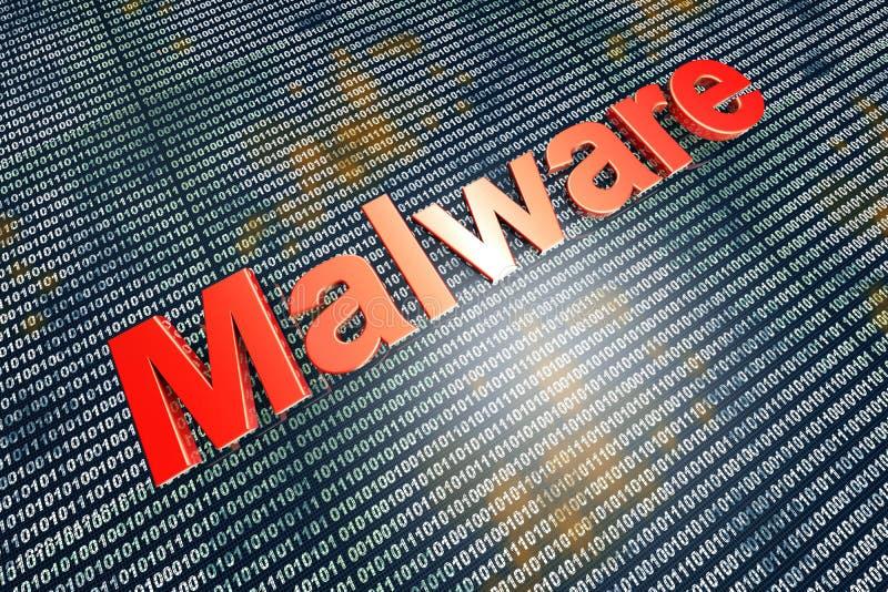 Malware ilustración del vector