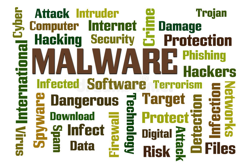 Malware vector illustration