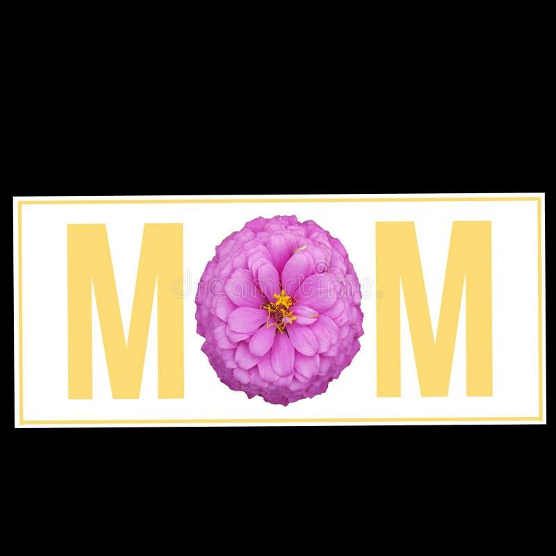 Mamá de la flor imagen de archivo