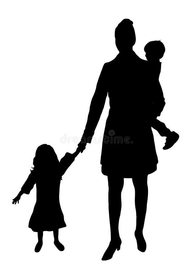 Mamã 1 ilustração stock