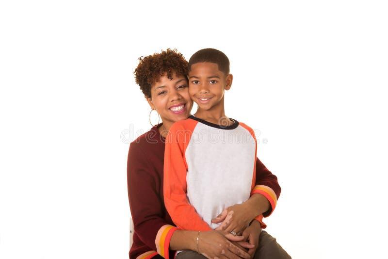 Mamã e seu filho fotos de stock royalty free