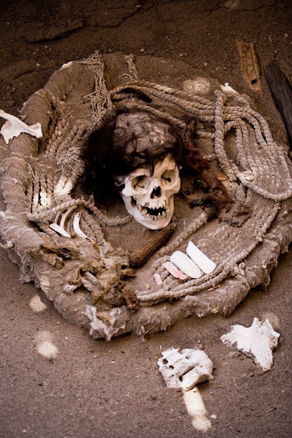 Mamã, Nazca, Peru imagens de stock royalty free