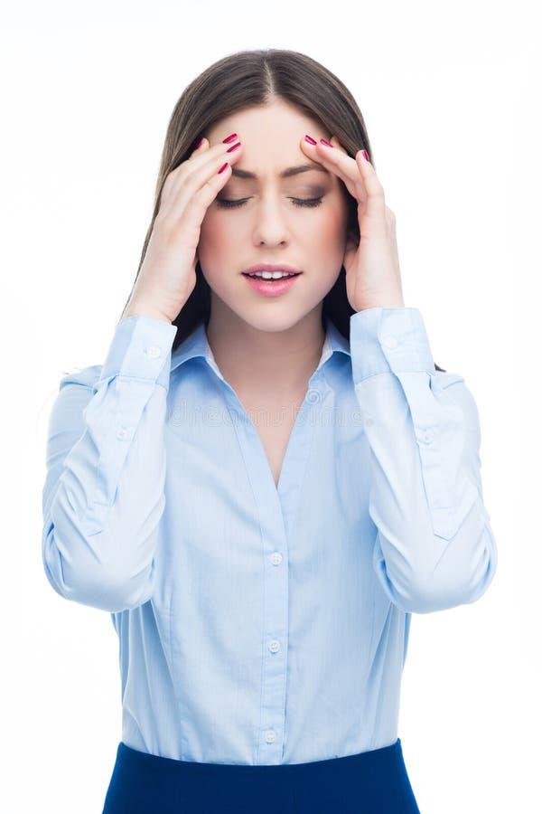 mam bóle głowy kobiety zdjęcia royalty free