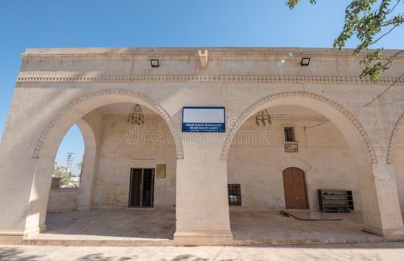 mam Muhammet Bakir Mosque in Sanliurfa royalty-vrije stock afbeelding