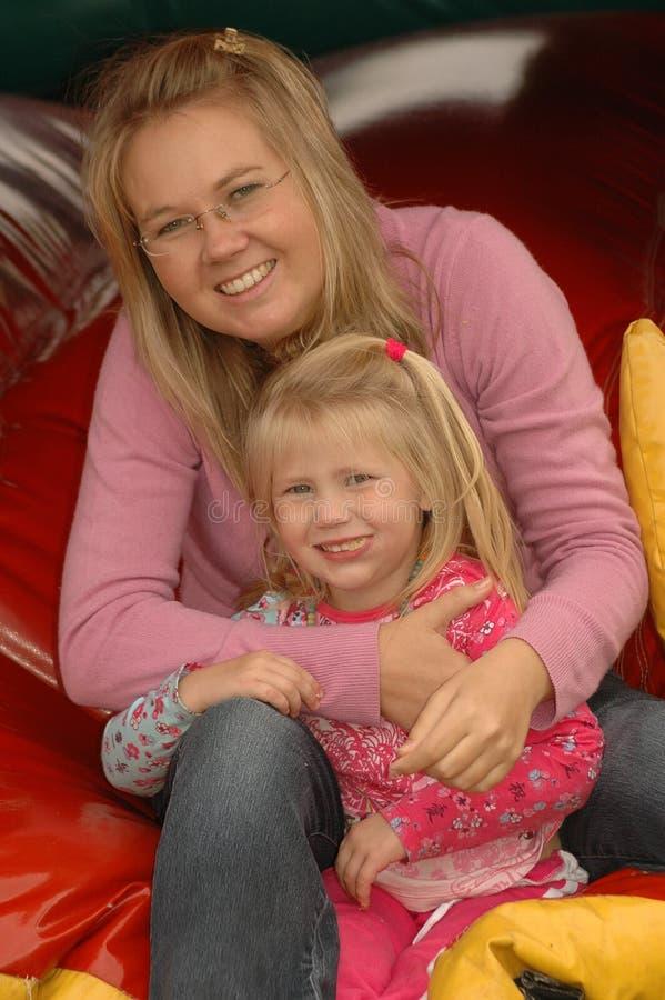 Mama e hija foto de archivo