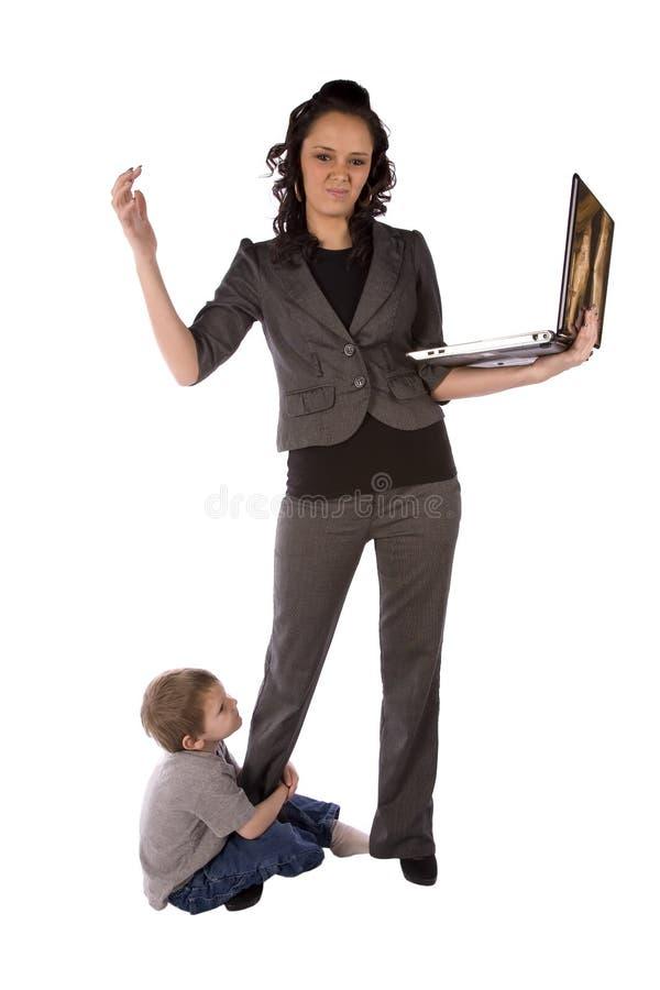 Mama enojada imagen de archivo libre de regalías