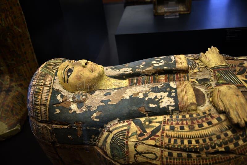 Mama-Fall in den Vatikan-Museen in der Vatikanstadt in Rom Italien stockfotos