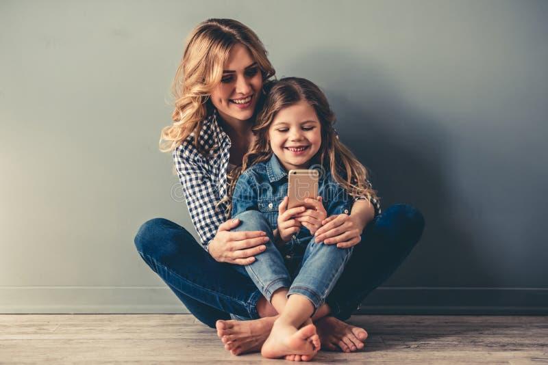 Mama i córka fotografia royalty free