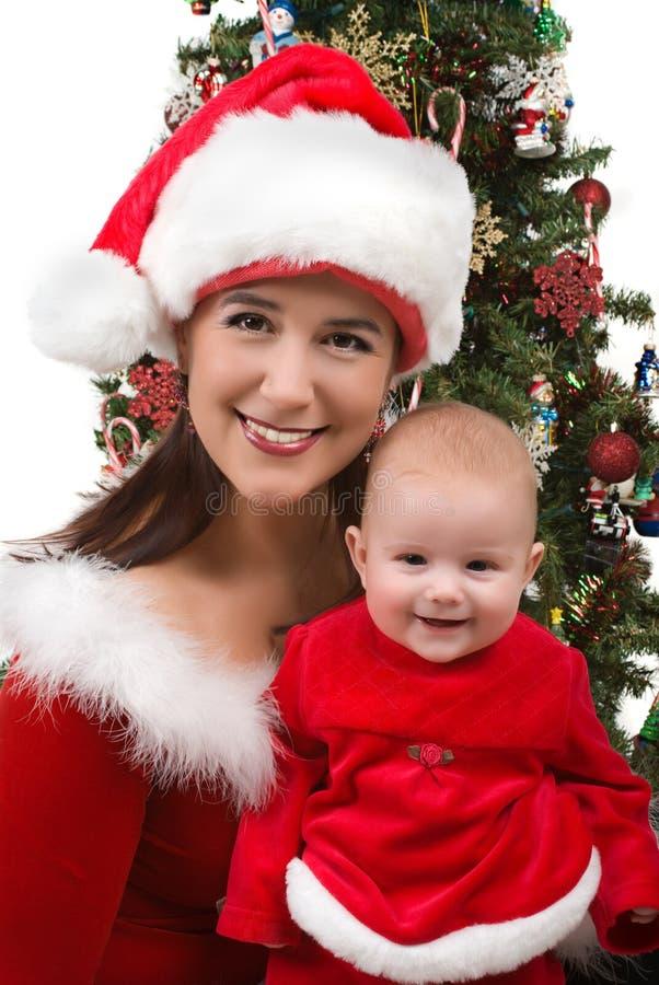 Mama y bebé foto de archivo