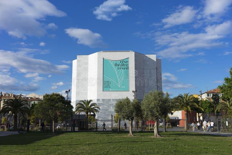 MAMAC, Nizza, Francia fotografia stock libera da diritti