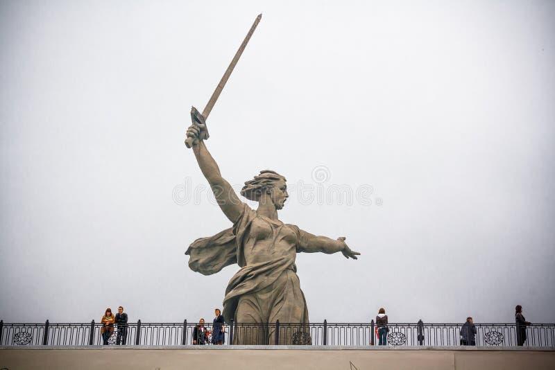 Mamaev di Kurgan fotografia stock libera da diritti