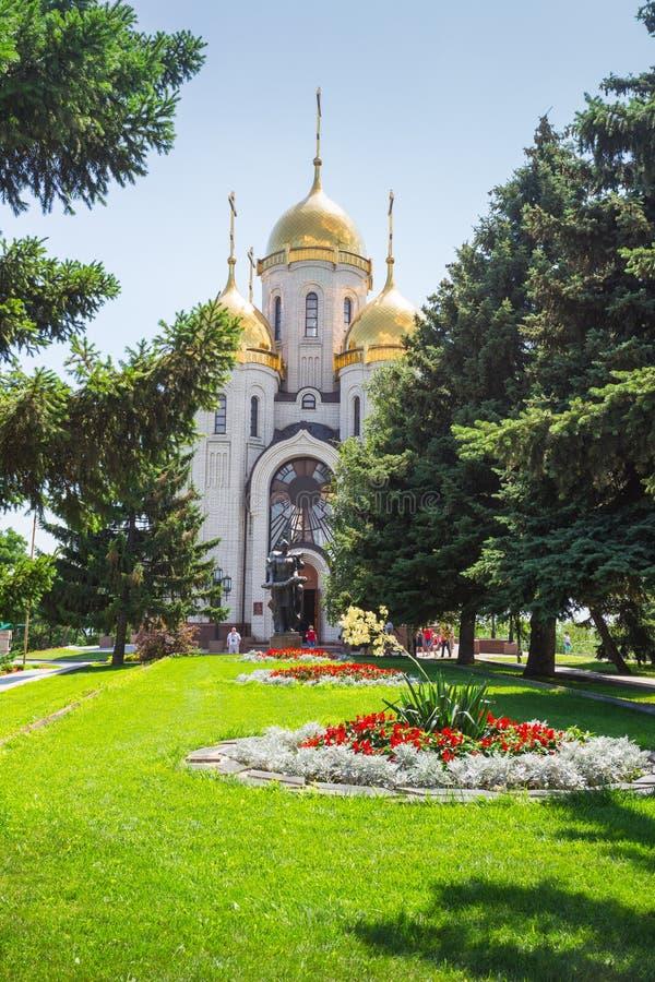 Mamaev kurgan. Hero City Volgograd, Russian Federation royalty free stock image