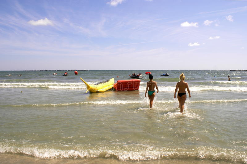 Download Mamaia Beach At The Black Sea Editorial Photography - Image: 43394947
