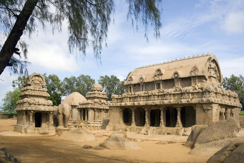 Mamallapuram - India royalty-vrije stock foto's
