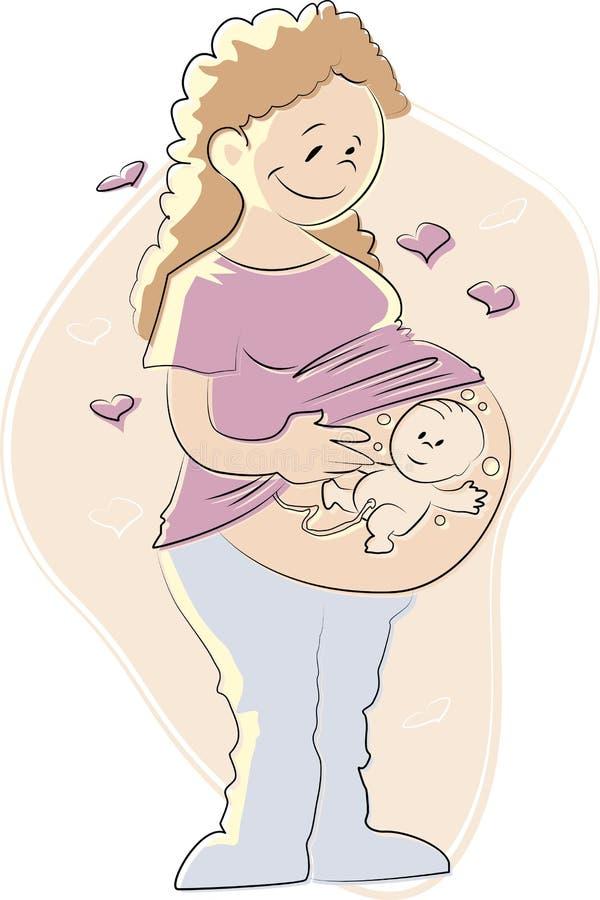 Maman illustration de vecteur