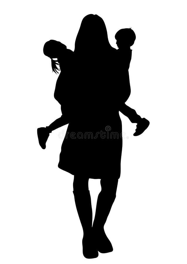 Maman 3 illustration stock