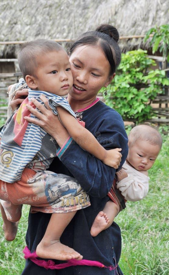 Maman d'ado de Lantaen. photos libres de droits
