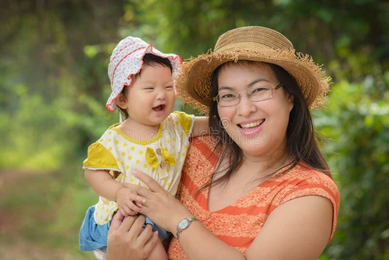 Maman et duagther images libres de droits