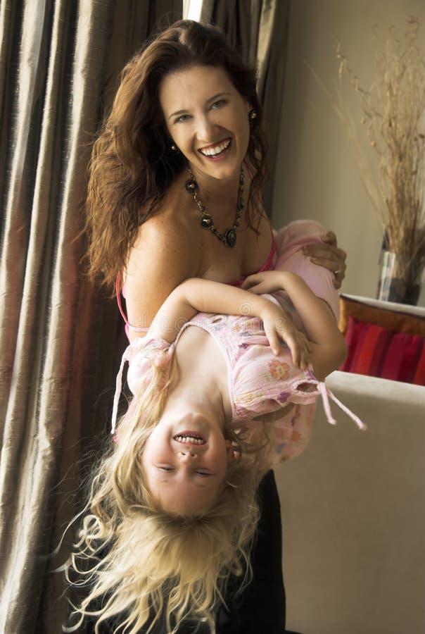 Maman et enfant photos stock