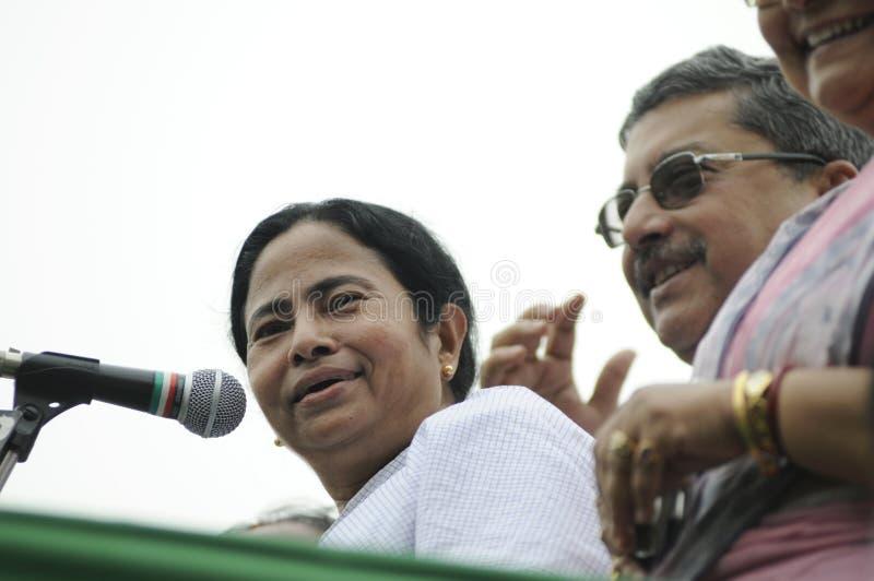 Mamata Banerjee. стоковые изображения