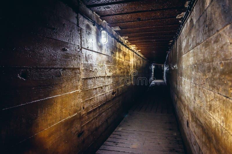 Mamerki地堡在波兰 免版税库存照片