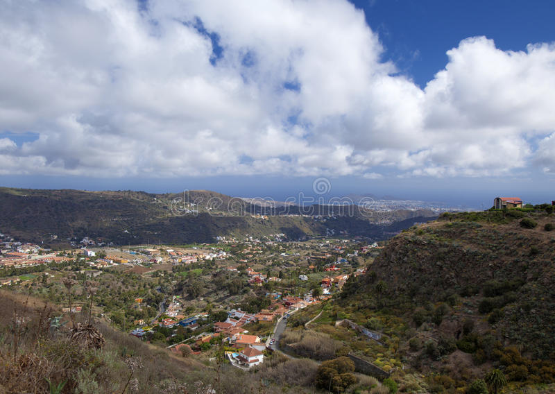 Mamie Canaria, avril d'Inlad photographie stock