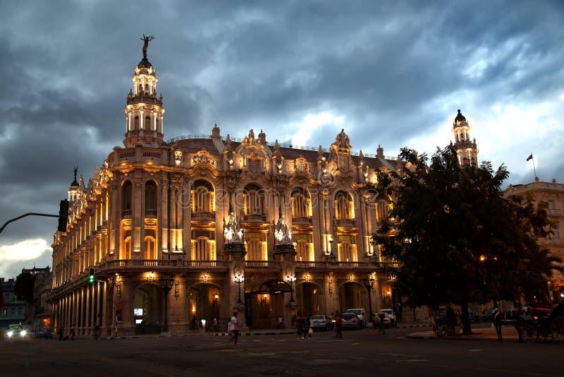 Mamie Teatro De La Habana Alicia Alonso à La Havane au Cuba images libres de droits