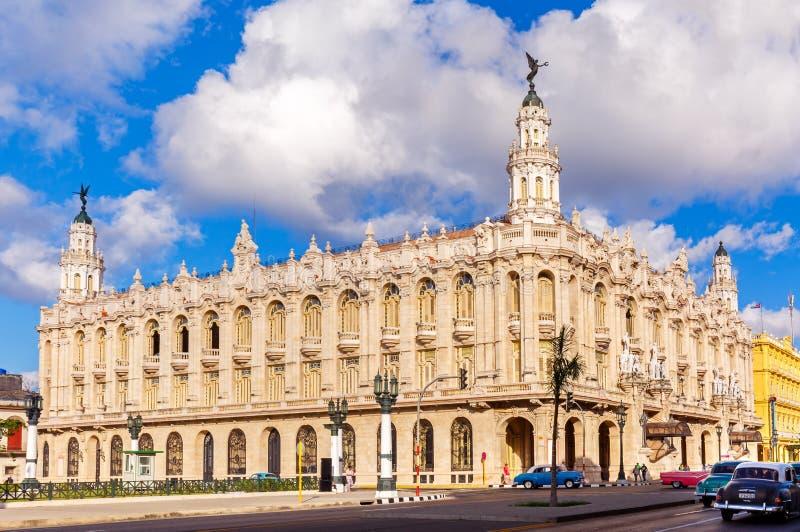 Mamie Teatro De La Habana en Havana Cuba photo stock