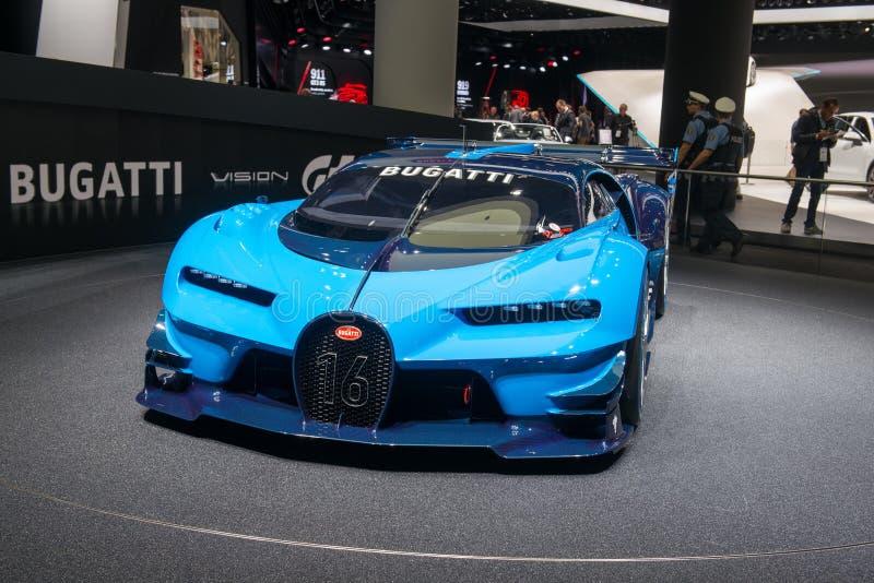 Mamie Turismo - première mondiale de vision de Bugatti photos stock