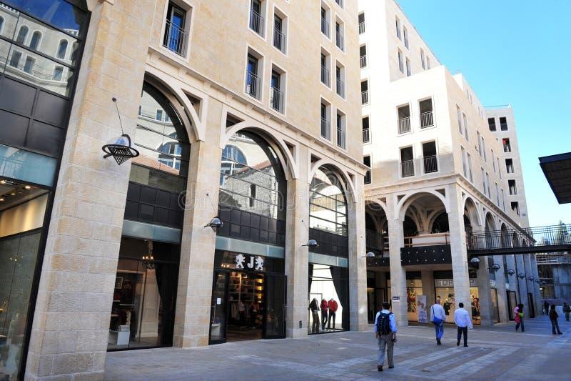 Download Mamilla Zakupy Centrum Handlowe W Jerozolimski Izrael Zdjęcie Stock Editorial - Obraz złożonej z korporacje, spotkanie: 28963278