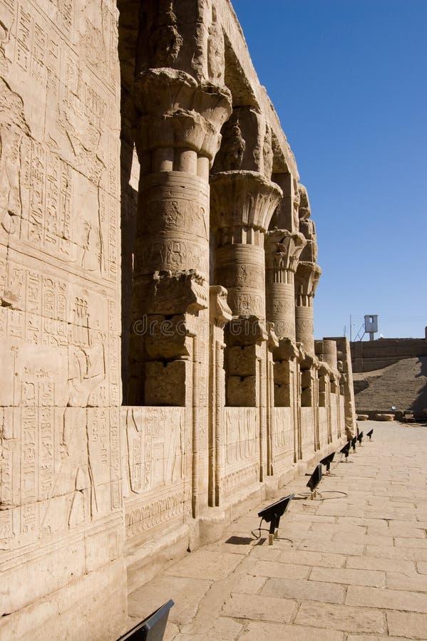 Mamissi, templo de Horus, Edfu, Egipto imágenes de archivo libres de regalías