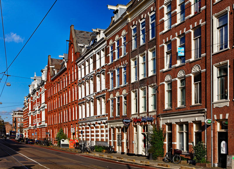 Mamixstraat στο Άμστερνταμ στοκ φωτογραφία με δικαίωμα ελεύθερης χρήσης