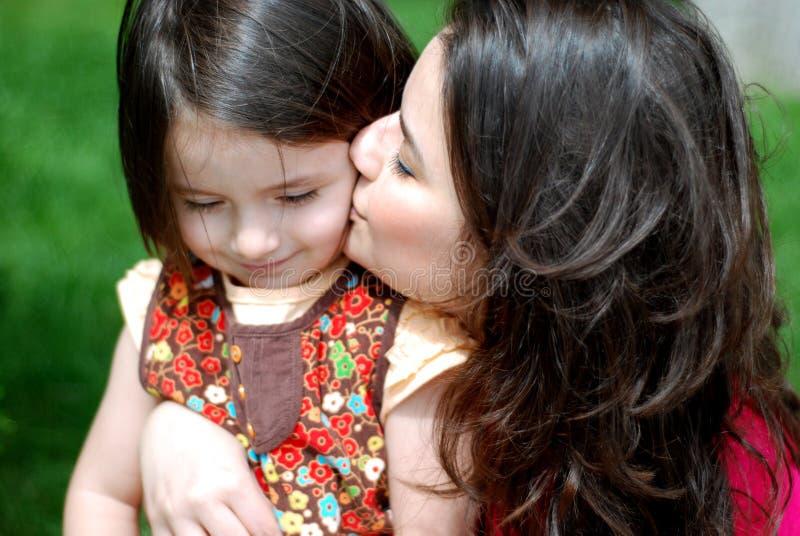 Mamma & dochter stock fotografie