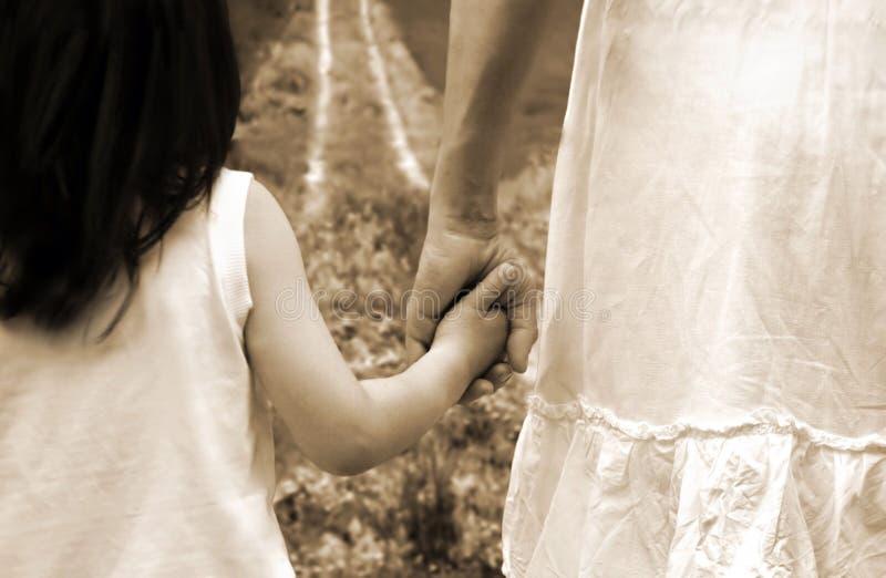 Mamma con la figlia fotografie stock libere da diritti