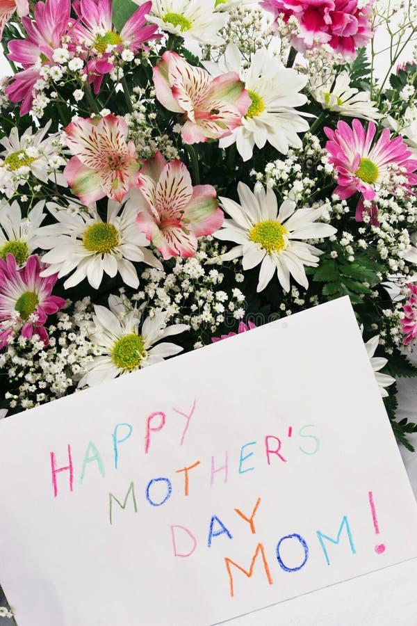 Mamma des glückliches Mutter Tages stockfoto