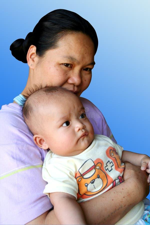 Mamma e bambino 1 fotografia stock libera da diritti