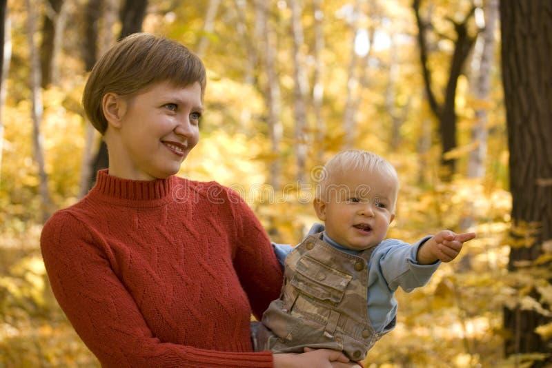 Mamma e bambino fotografia stock