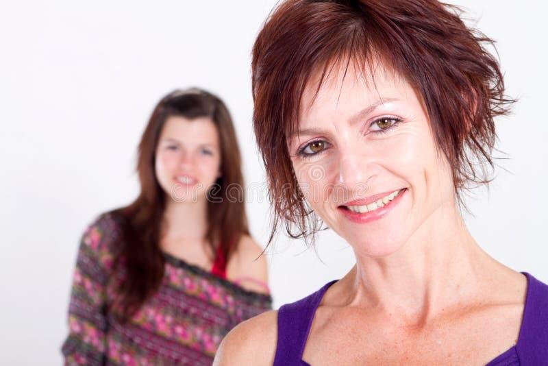 Mamma invecchiata centrale fotografia stock