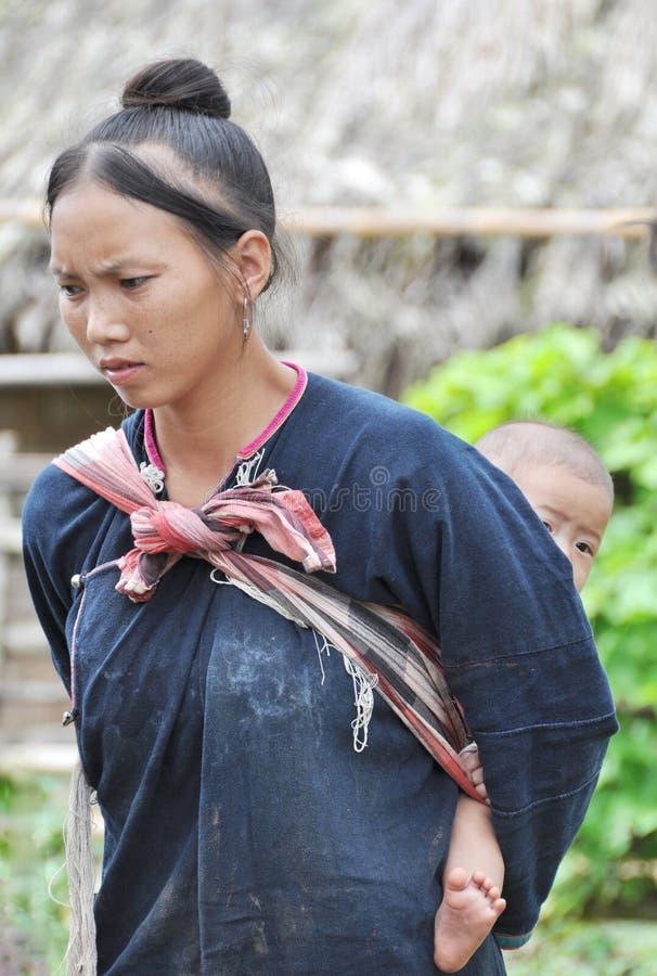 Mamma teenager di Lantaen. fotografia stock
