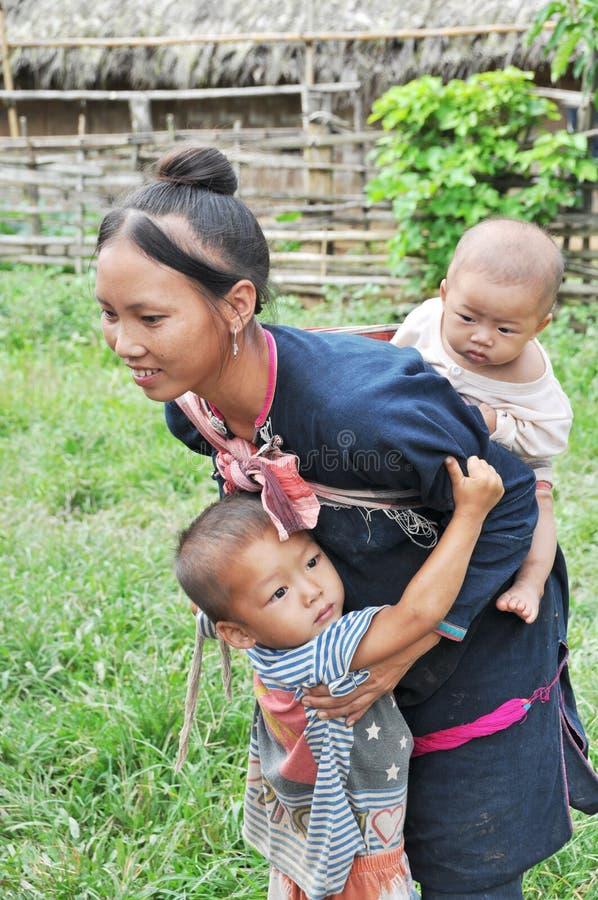 Mamma teenager di Lantaen. fotografia stock libera da diritti